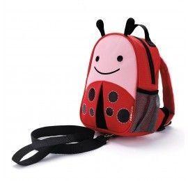Mini sac à dos harnais Coccinelle