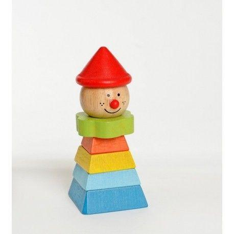 Clown à assembler chapeau rouge Everearth