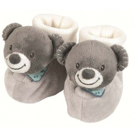 Chaussons Jules l'ours Nattou