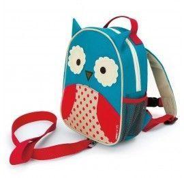 Mini sac à dos harnais Hibou