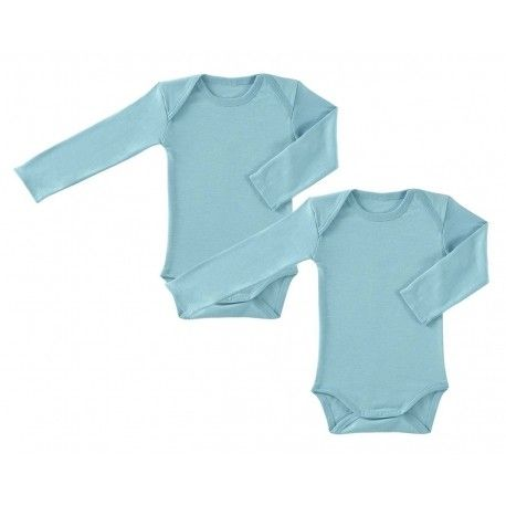 Lot de 2 bodies Manches longues Jerseys P'tit Basile