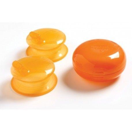 Capuchon bec pour tasse orange