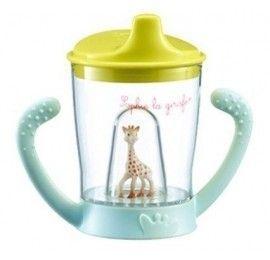 Tasse anti-fuite Sophie la girafe