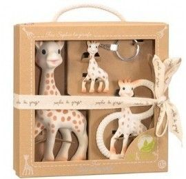 Coffret Trio So Pure Sophie la girafe
