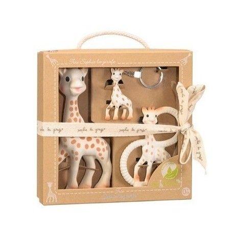 Coffret Trio So Pure Sophie la girafe