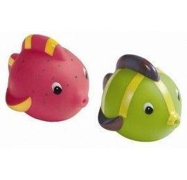 Jouets de bain 2 poissons arroseurs Vulli