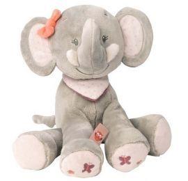 Peluche Adèle l'éléphant