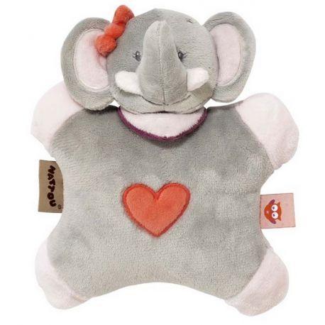 Doudou Flatsie Adèle l'éléphant Nattou