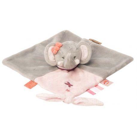 Doudou Adèle l'éléphant Nattou