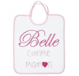 Baby Calin bavoir Belle comme Maman