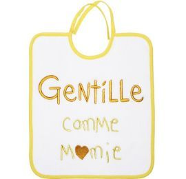 Bavoir Gentille comme Mamie Baby Calin