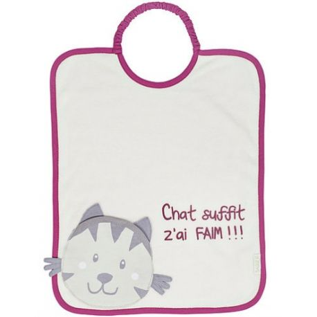 Bavoir Bagolo Chat Baby Calin