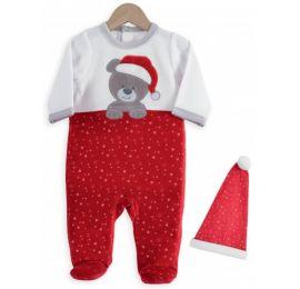Pyjama et bonnet de Noël pas cher