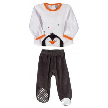 Pyjama 2 pièces Pingouin