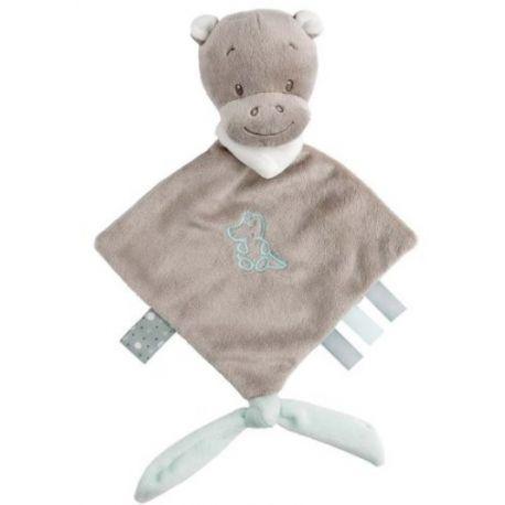 Mini doudou Hippopotame Hippolyte