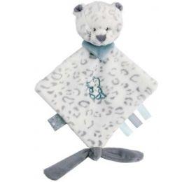 Mini doudou Léopard des neiges
