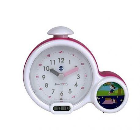 Mon premier réveil Kid Sleep Clock Rose Claessens'kids: vue de face