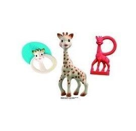 Nouveau Set de naissance Sophie la girafe pas cher