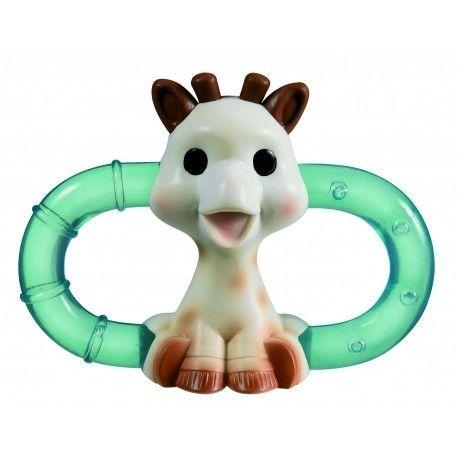 Double anneau de dentition polaire Boîte Sophie la girafe