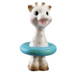 Jouet de bain Sophie la girafe et sa bouée pas cher