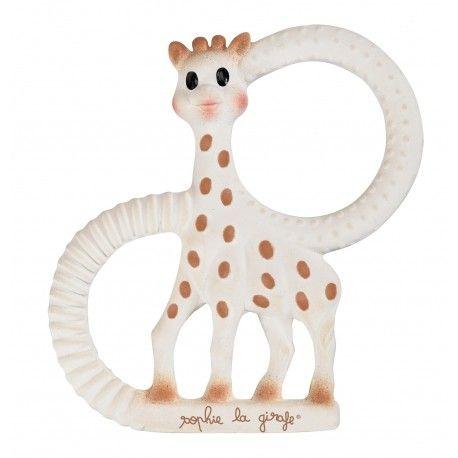 Anneau de dentition So Pure version très souple Sophie la girafe