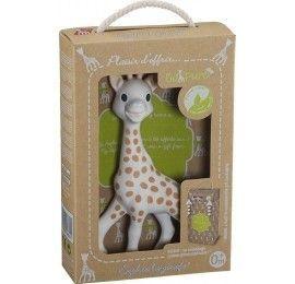 "Sophie la girafe avec ""prêt à offrir"""