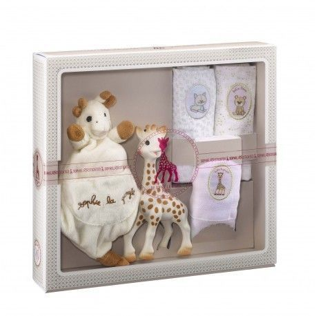 Coffret Sophisticated Sophie la girafe