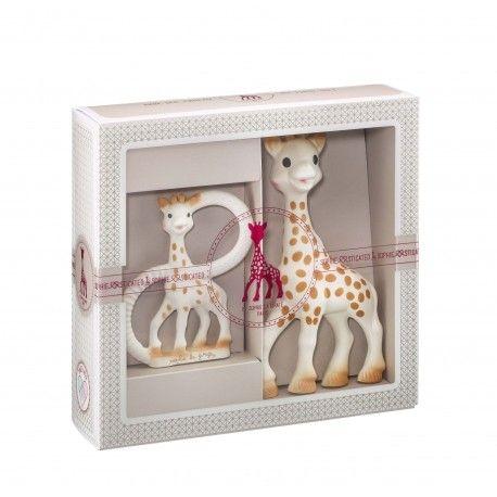 Coffret Sophisticated Anneau Sophie la girafe