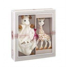 Coffret Sophisticated Doudou et Sophie la girafe