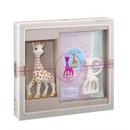 Coffret Sophisticated Protège carnet de santé et Sophie la girafe