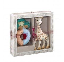 Coffret Sophisticated Hochet et Sophie la girafe pas cher