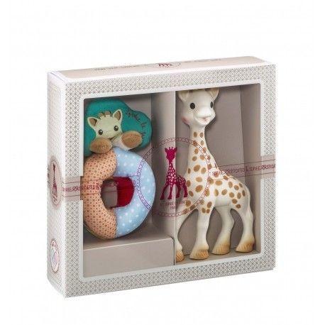 Coffret Sophisticated Hochet et Sophie la girafe