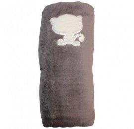 Baby Calin couverture taupe 100*150cm