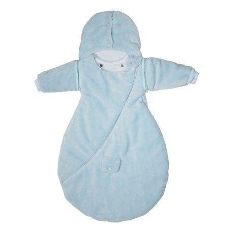 Douillette naissance bleue Baby Calin