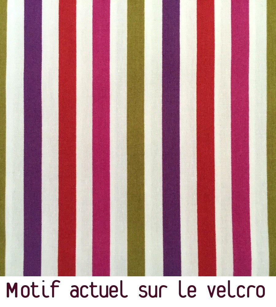 Bandes multicolores